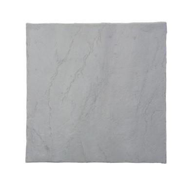 16 in x 16 in flat rock grey plastic resin lightweight duty
