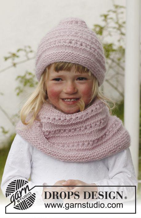 tricoter un snood 12 ans