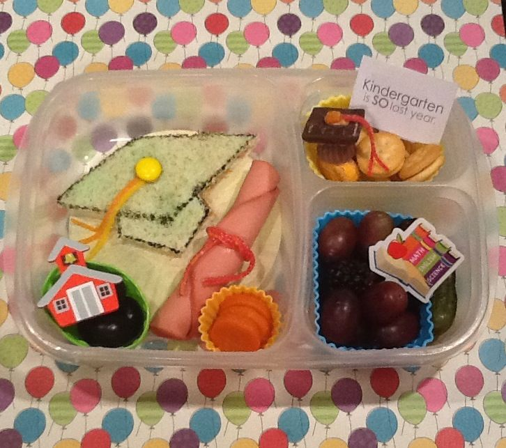 The Lucky Lunchbox/ Graduation lunch for my kindergartner in @EasyLunchboxes
