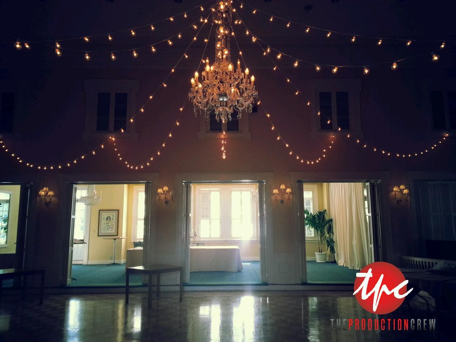 300 feet of market lights over the tampa yacht club ballroom 300 feet of market lights over the tampa yacht club ballroom arubaitofo Gallery