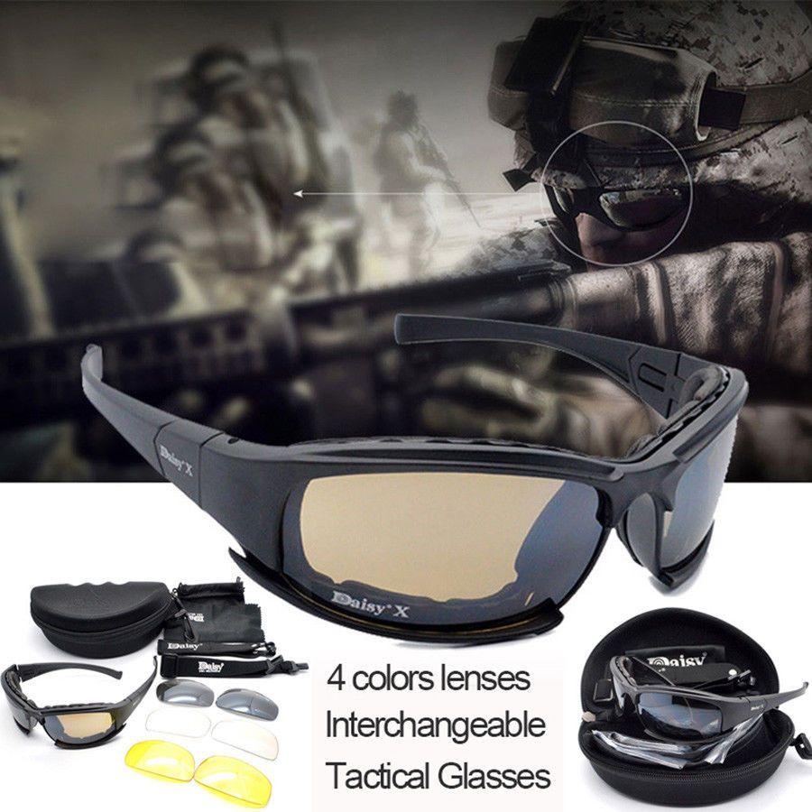 Goggles 4ls Military X7 Sunglasses Outdoor Daisy Men Polarized 0nwP8kO