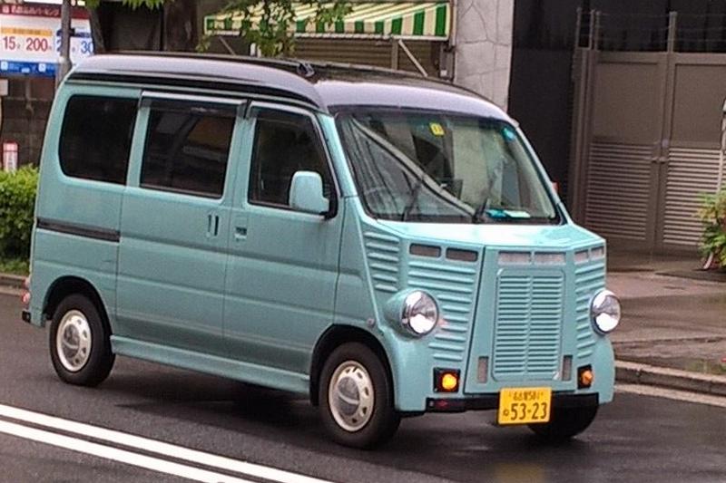 72a94ca18c Citroen H van - a restyled Suzuki kei car