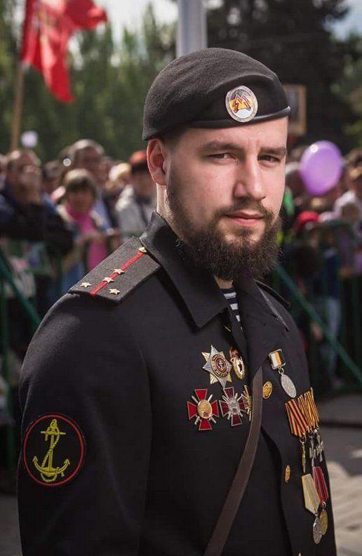 """Первый заместитель Моторолы Жога Владимир, новый  комбат """"Спарты""""."""