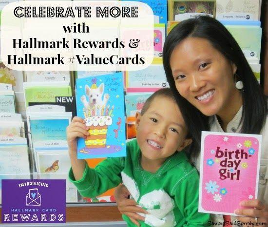 Celebrate More with Hallmark Rewards & Hallmark #ValueCards #shop #cbias