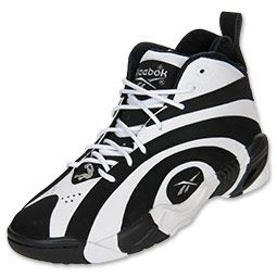 black and white reebok shoes