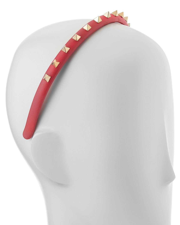 Rockstud Headband, Pink