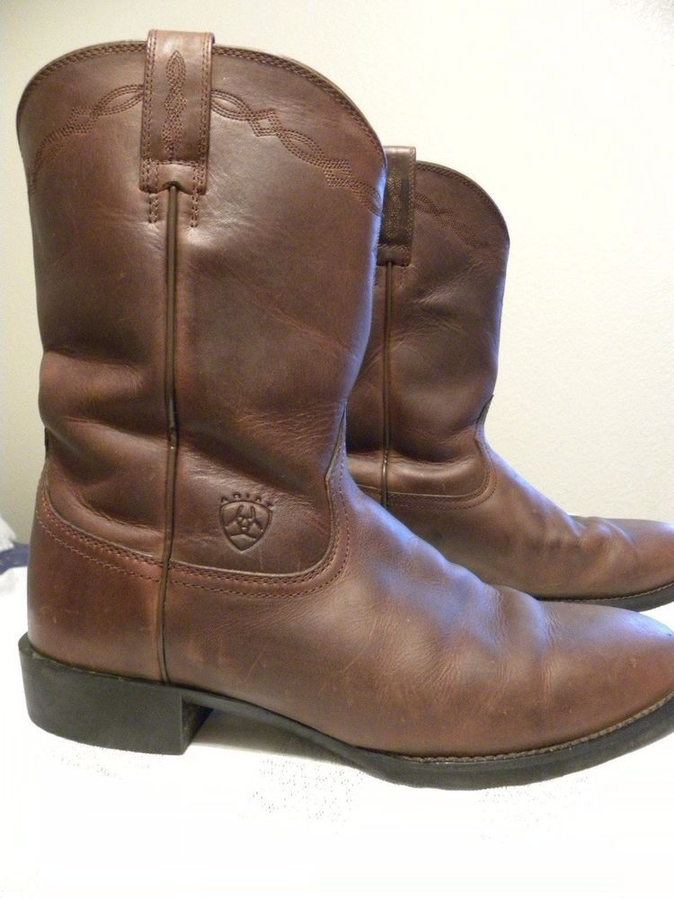 3f80cdb13ac Details about Ariat Heritage Roper Western Boots - Brown - Mens | My ...