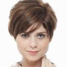 Resultado de imagem para cabelos curtos com franja