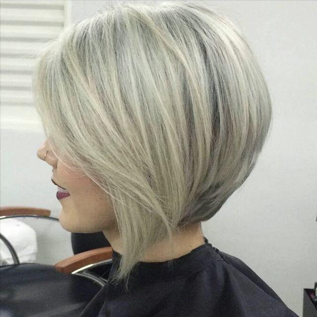 Frisurwechsel Tolle Anregungen Fur Einen Neuen Frischen Und Flotten Look Neue Frisur Kurzhaarfarben Haarschnitt Haarschnitt Bob
