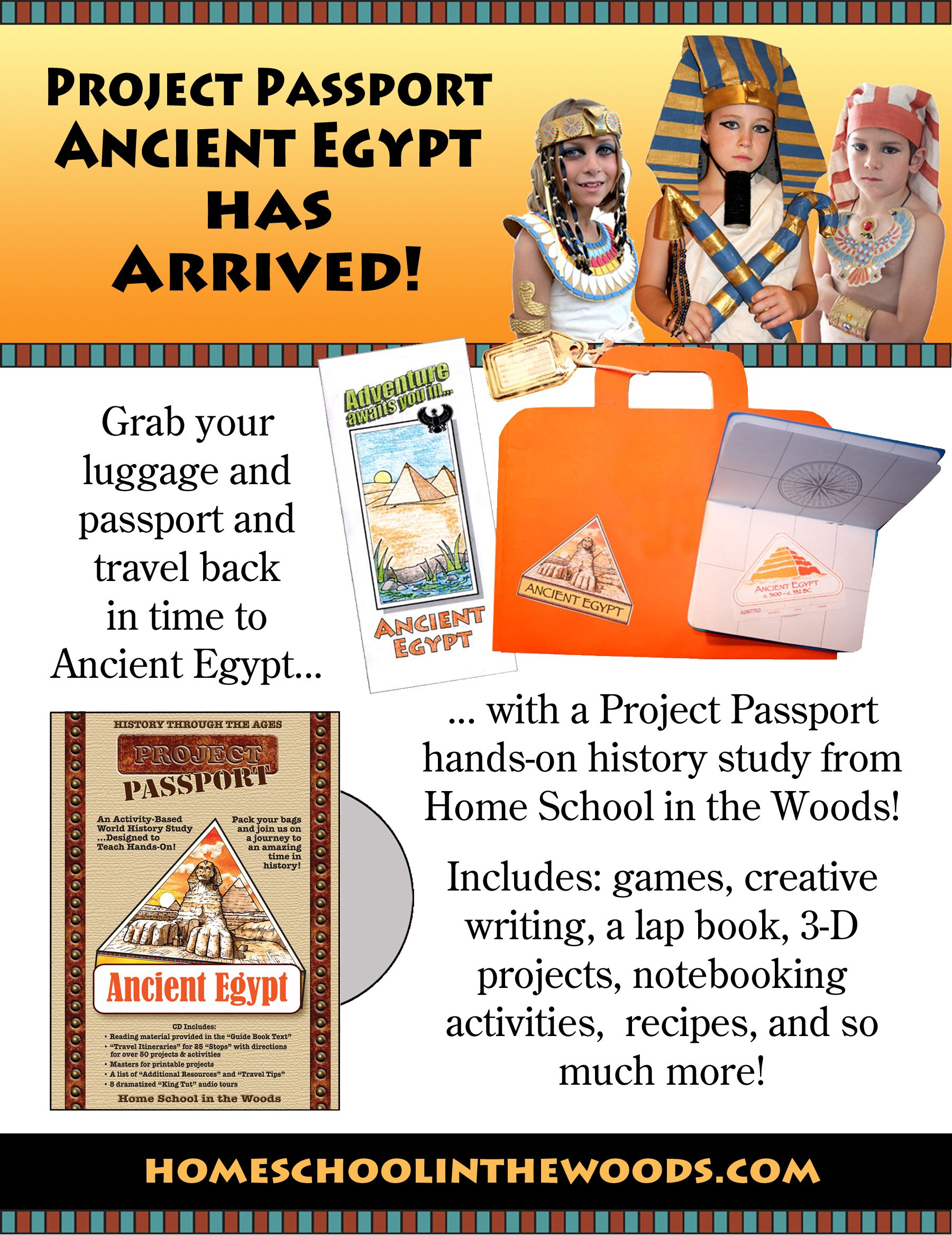 Project Passport Ancient Egypt With Images