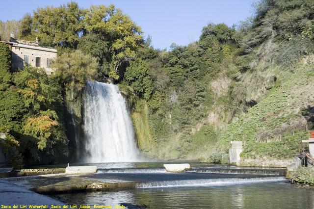 Awesome Videoshp: Isola del Liri Waterfall ,Isola del Liri ...