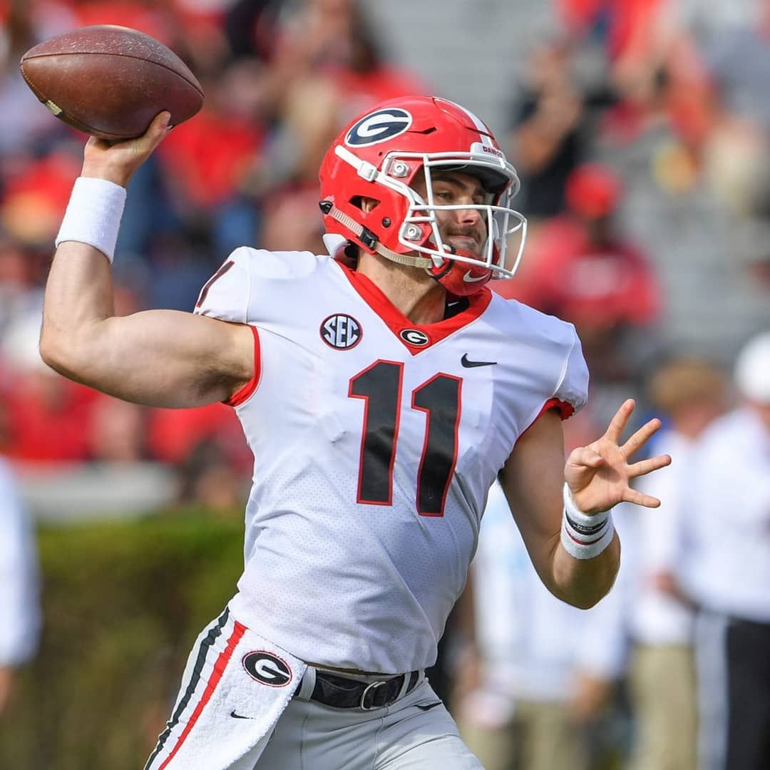 CBS sports Latest mock draft has UGA QB Jake Fromm as 1