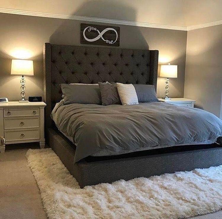 Ashley Home Furniture Sorinella Upholstered Bed Home Decor Bedroom Decor Bedroom Og Small Master Bedroom