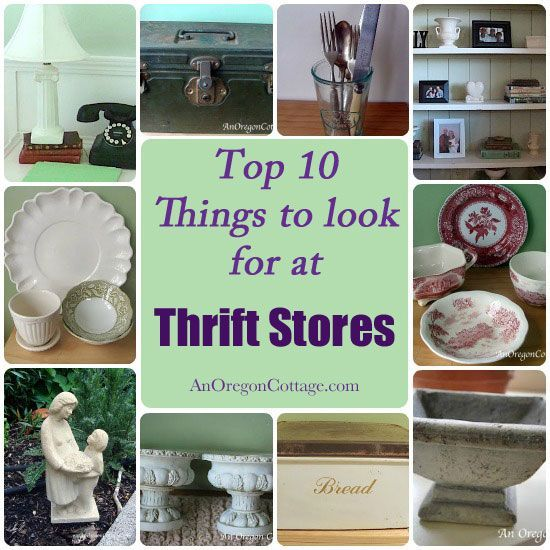 Top Ten At Thrift Stores