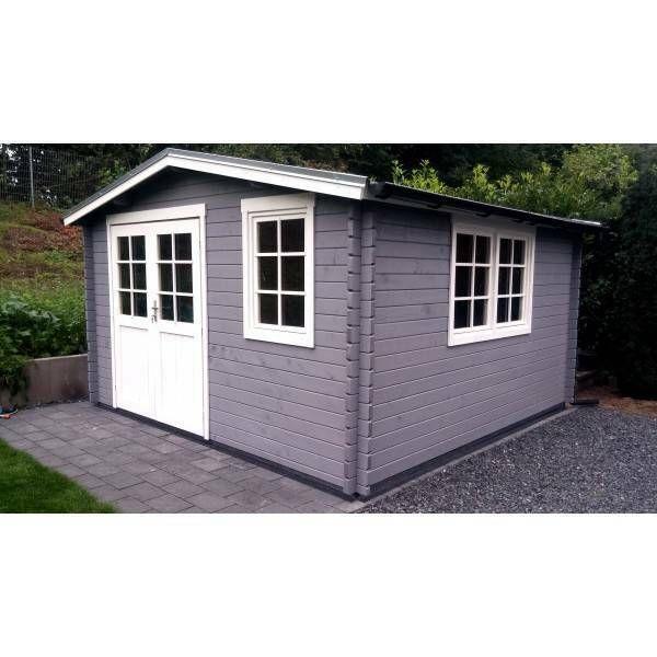 eBay Sponsored Gartenhaus Holz 4x4m Blockhaus 40mm