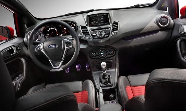 Ford Fiesta St Interior Ford Fiesta St Ford Fiesta Fiesta St