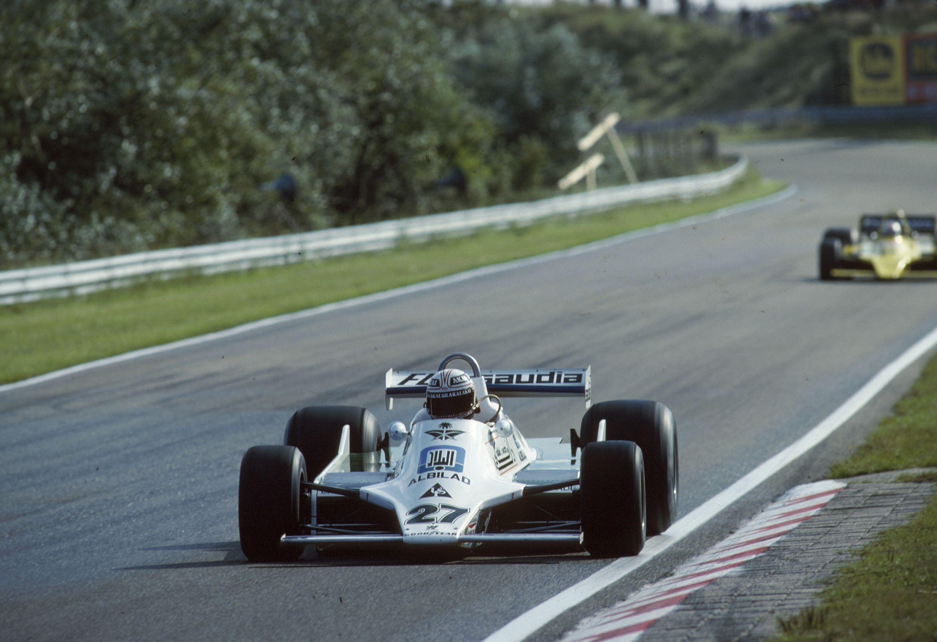 1979 Zandvoort (Alan Jones Williams FW07, Hans Joachim Stuck