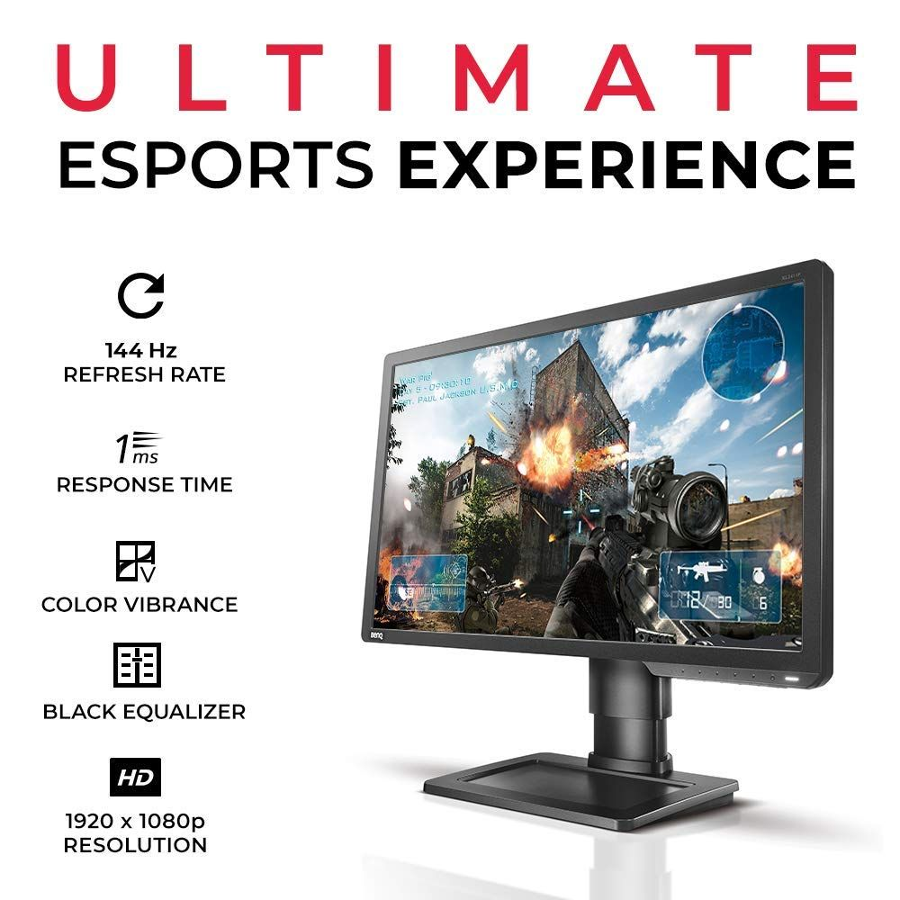 BenQ ZOWIE XL2411P 24 Inch 144Hz 1080p Gaming Monitor for