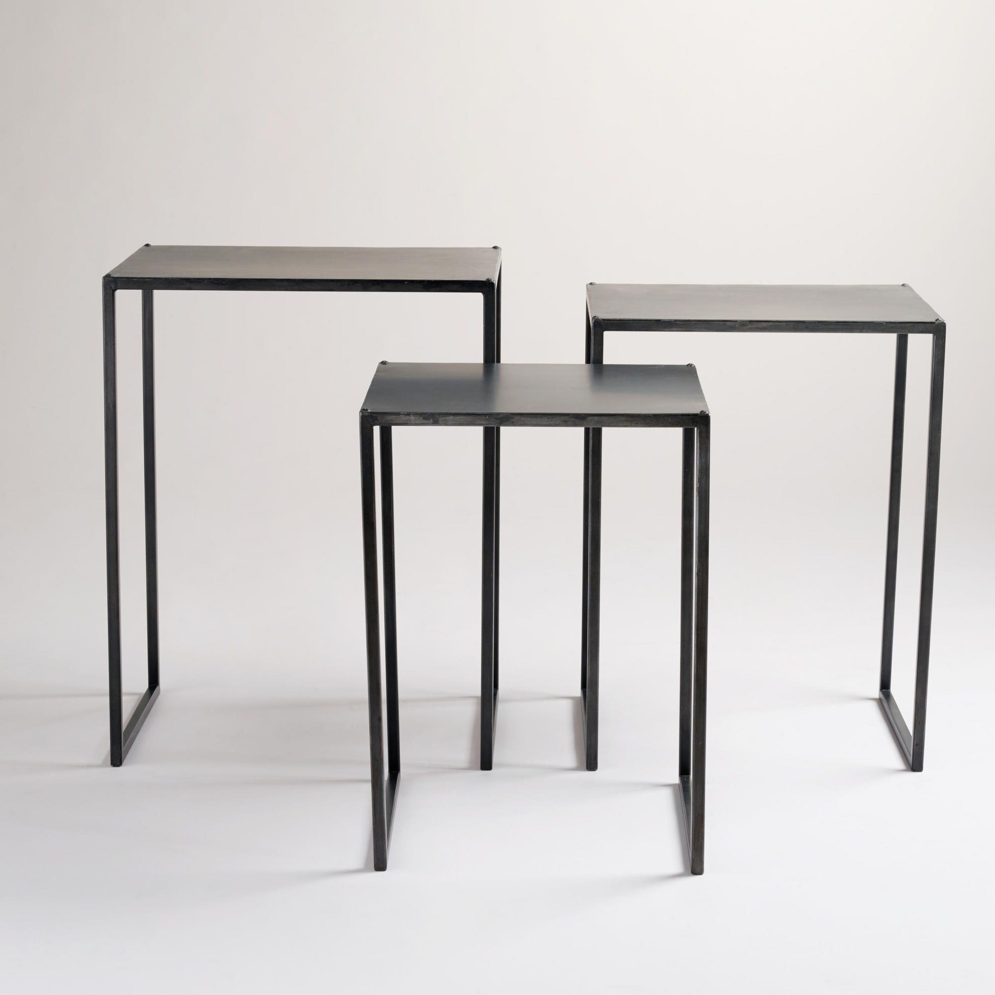 Ashton Nesting Tables, Set Of 3 - World Market