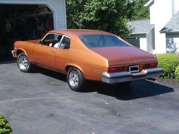 Clean Copper Paint Chevrolet Nova Chevy Nova Chevy