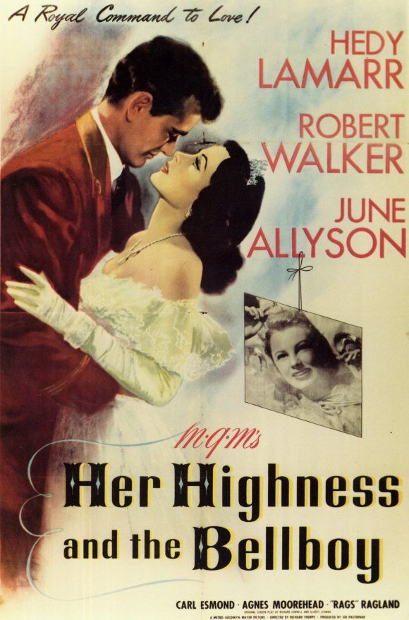 Her Highness And The Bellboy Good Movies Movie Posters Movies