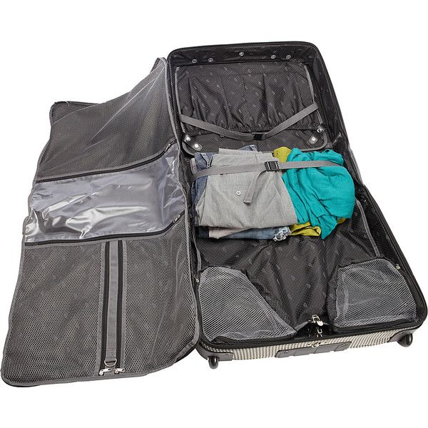 London Fog Cambridge 44 Inch Wheeled Garment Bag A Smart Compact Design Is Perfect For Quick Trips Still Delivers That Wrinkle Free Arrival You Love