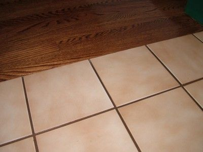 how to paint ceramic tile going to use this for putting stencils on bathroom floor