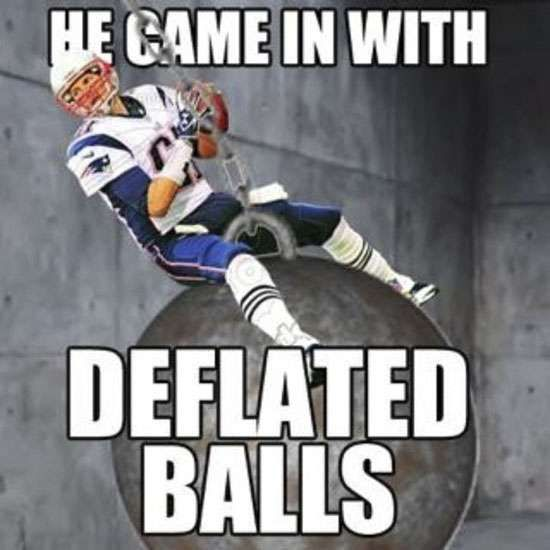 Funniest Tom Brady Deflategate Memes 14 Photos Sports