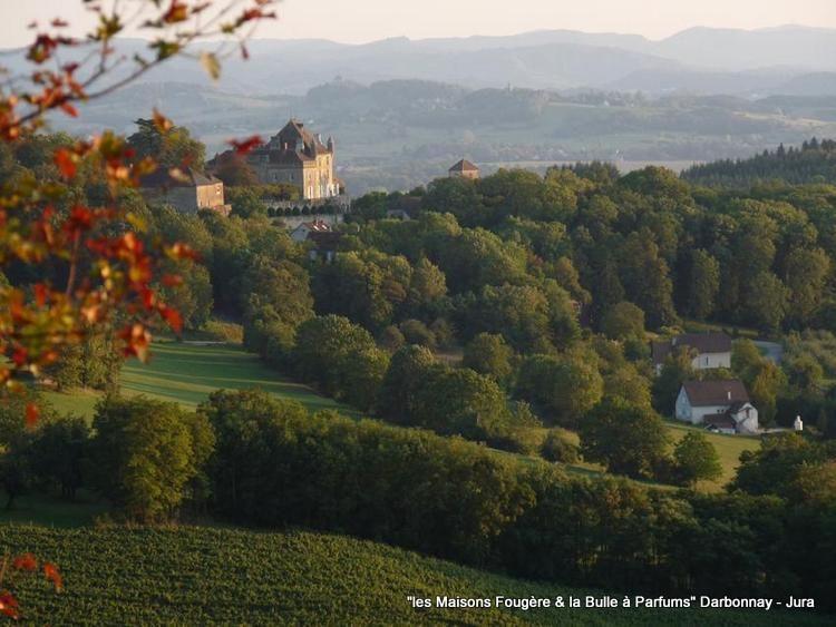 Le Chateau De Frontenay Qui Nous Fait L Honneur De Nos Fenetres Www Lesmaisonsfougere Com Jura Tourisme Maison D Hotes Franche Comte