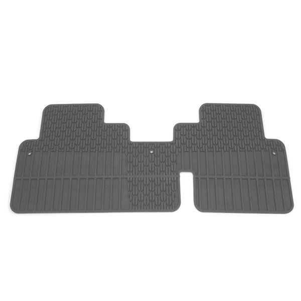 2015 Traverse Floor Mat 2nd Row All Weather Titanium Bench Foldin Chevrolet Traverse Floor Mats Flooring Bench
