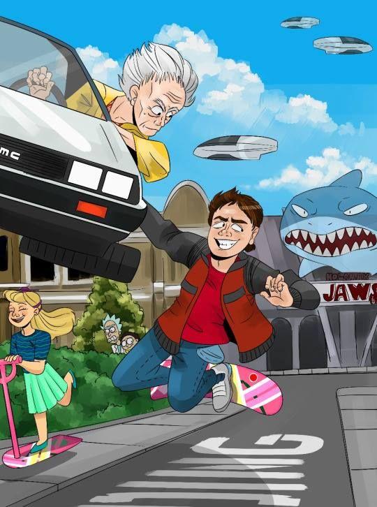 Family Guy Back To The Future : family, future, Bakker, Backtothefuture, Future, Poster,, Future,