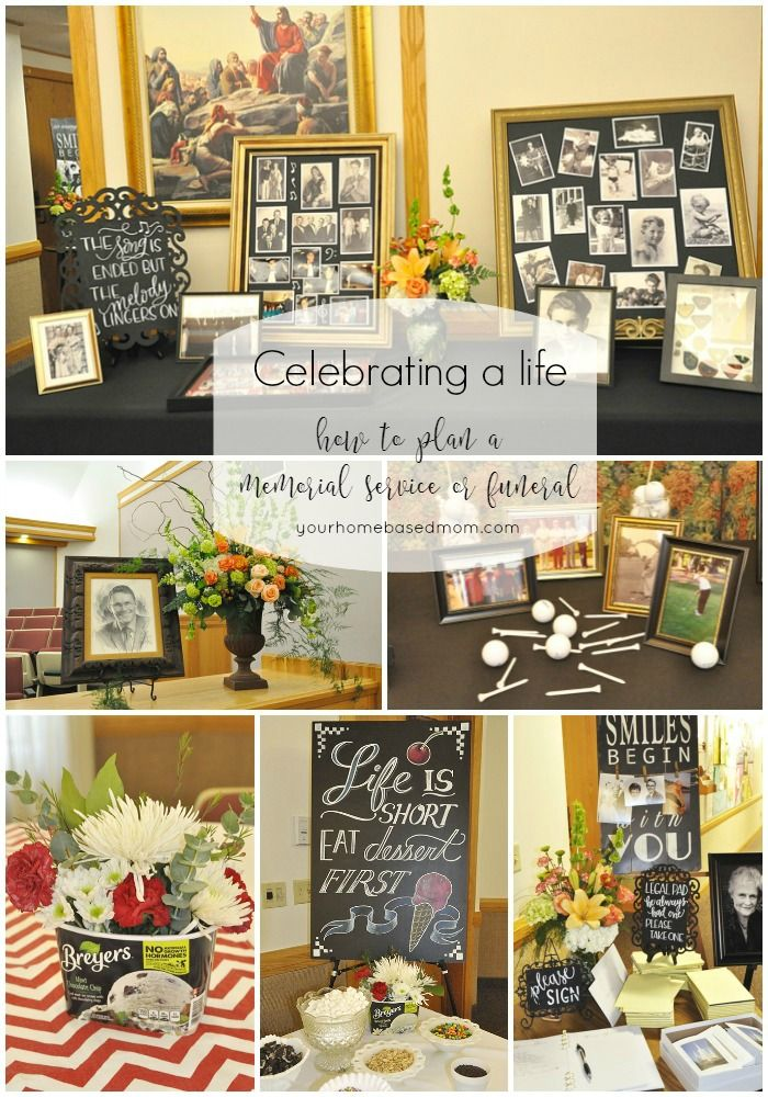 6 Ideas On How To Display Your Home Accessories: How To Plan A Funeral, Memorial Service Or Life