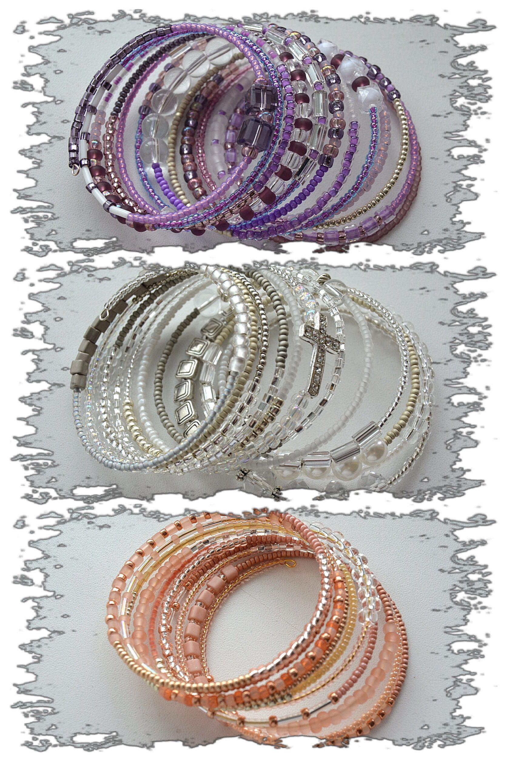 Memorywire bracelets abalorios pinterest bracelets memory