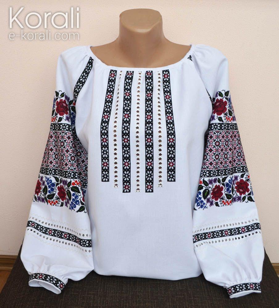 вишиті сорочки жіночі ручна робота фото