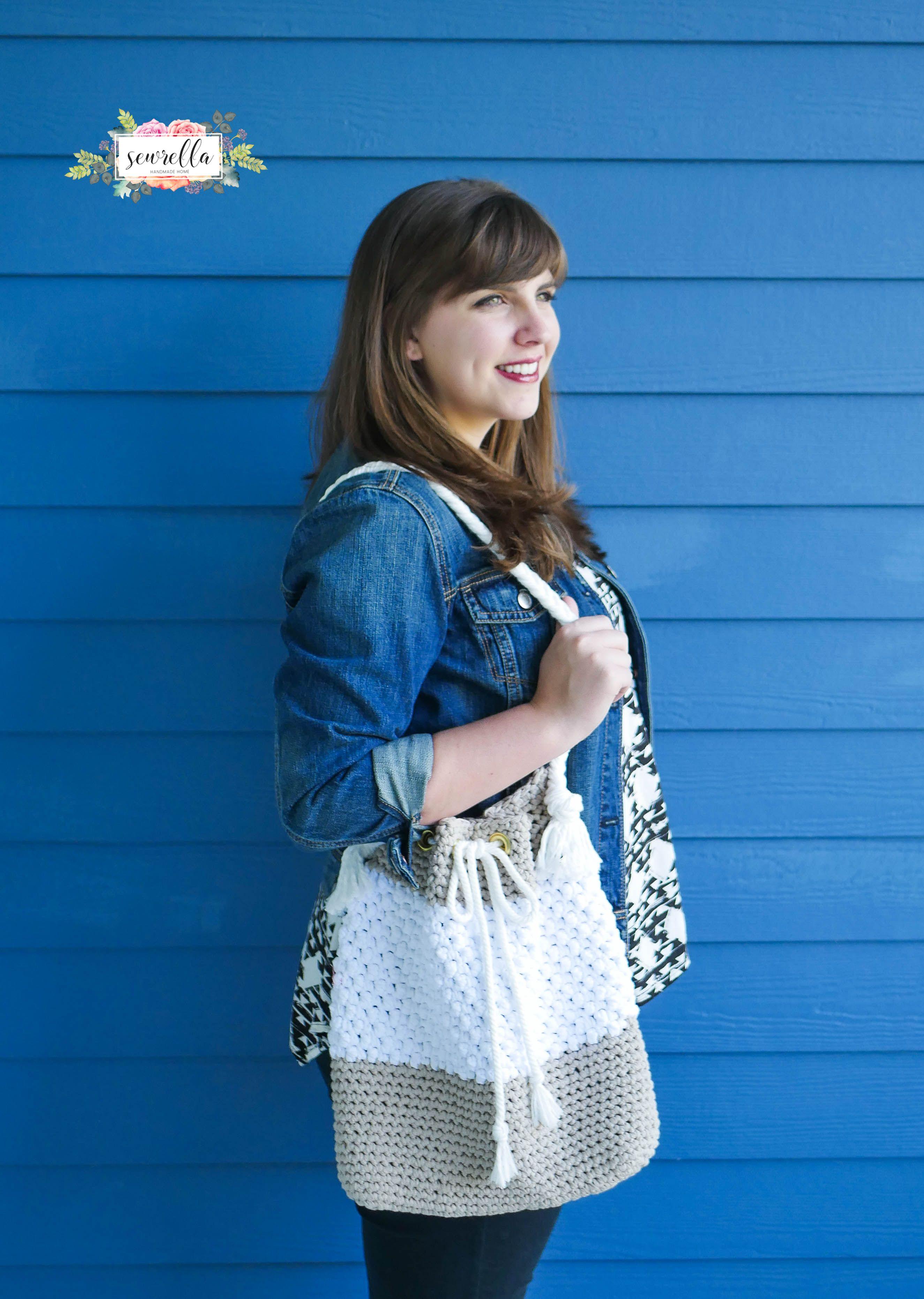 The Mykonos Crochet Bag | Häkeln