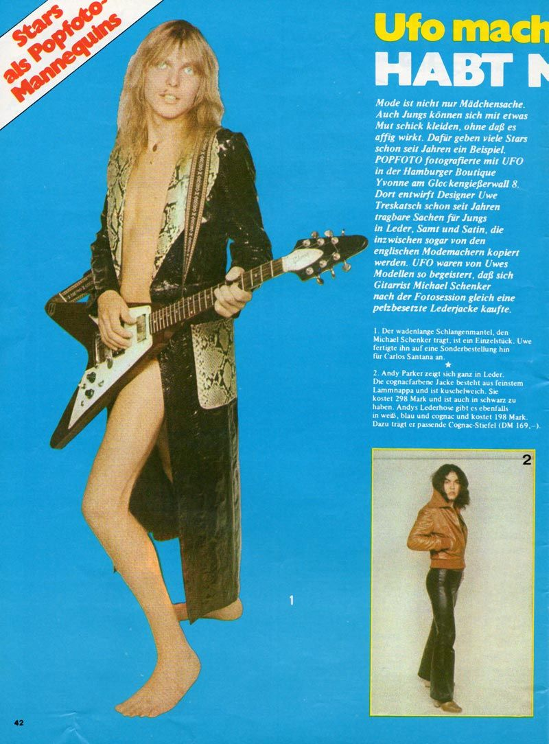 UFO - Press Articles - 1976 | UFO-Schenker-Scorpions | UFO ...