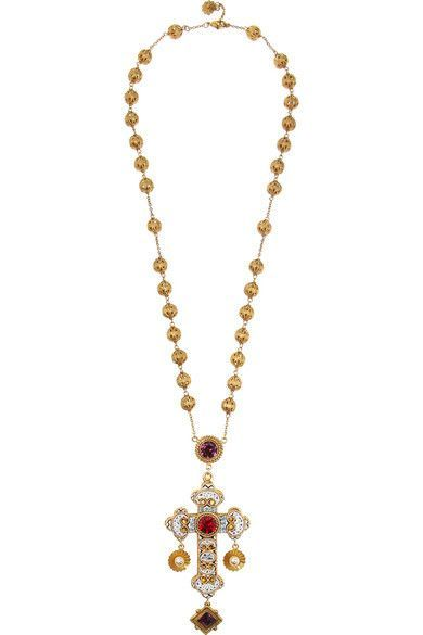 Gold plated swarovski crystal cross necklace i want all of gold plated swarovski crystal cross necklace aloadofball Choice Image