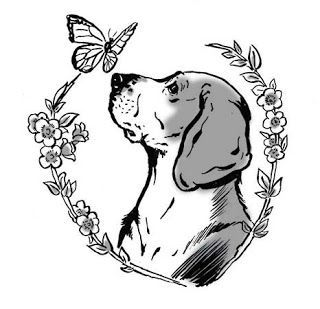 Beagle Tattoo Designs Beagle Tattoo Dog Memorial Tattoos Dog