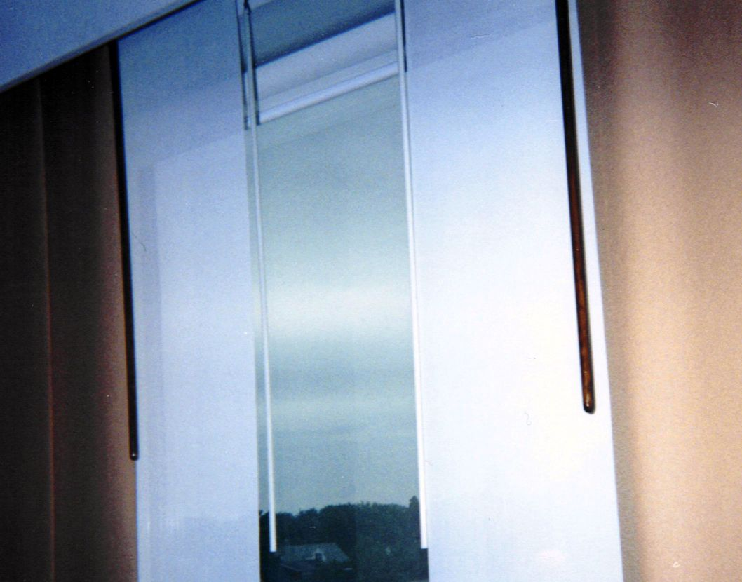 The Nara Panel works with both sheer and blackout panels.