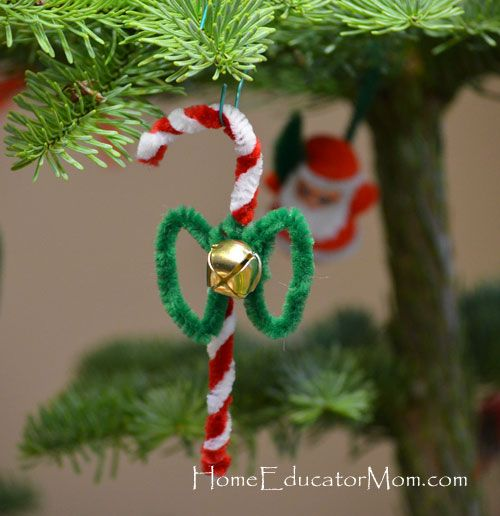 Easy Pipe Cleaner Crafts Pipe Cleaners Religious Christmas Craft