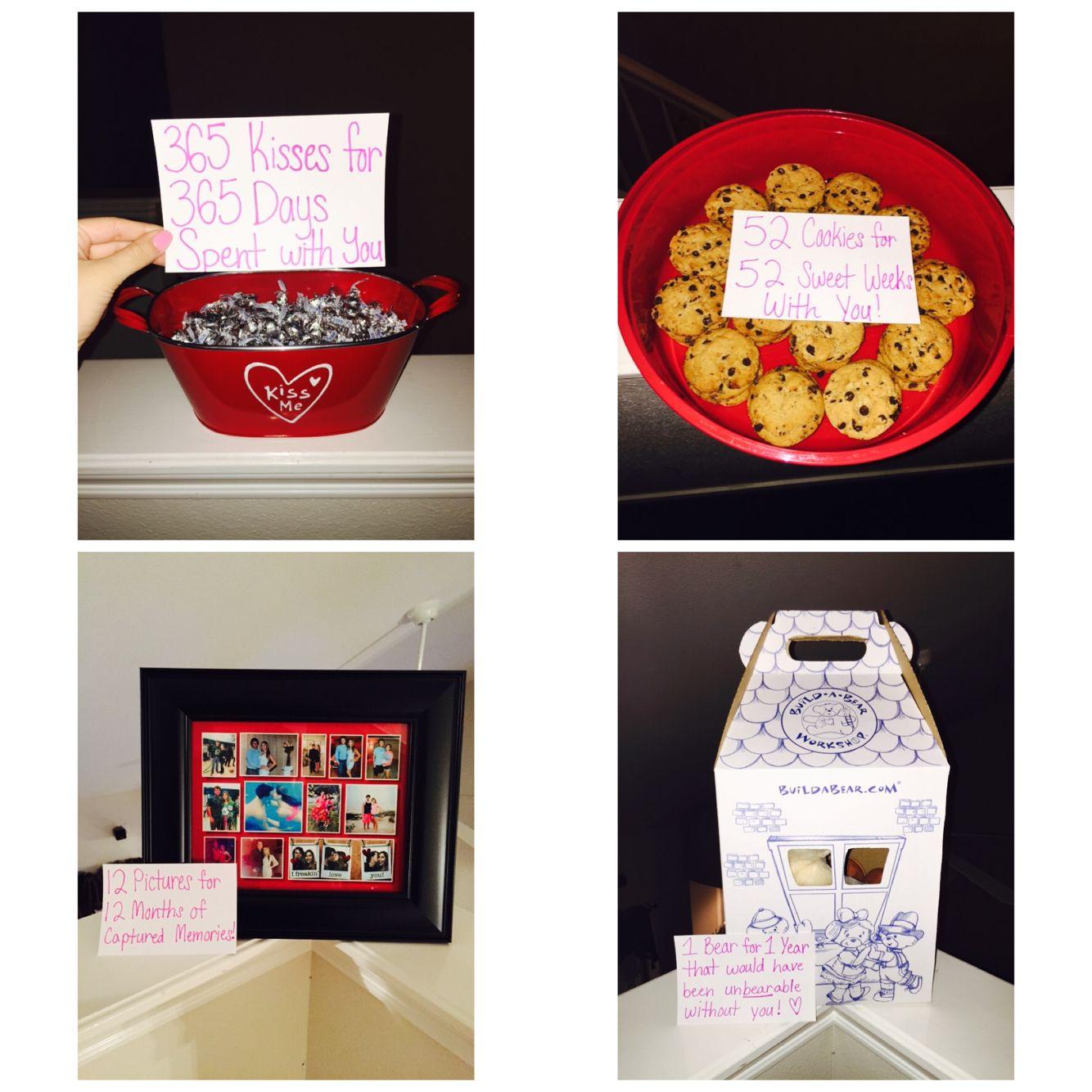 1 year Anniversary gift for boyfriend or girlfriend 1