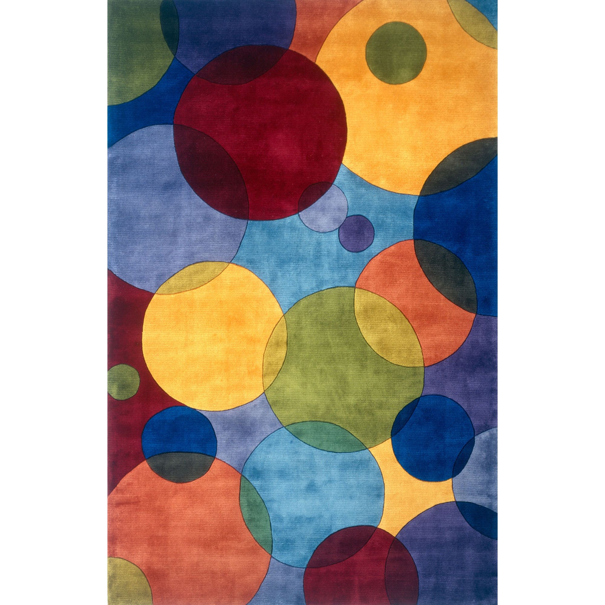 Momeni New Wave Iv 37 Multi Contemporary Rug Csn Stores Hand Tufted Rugs Wool Area Rugs Contemporary Area Rugs