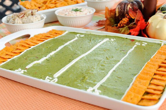 Cheez-It™ Game Day Guacamole  #Football
