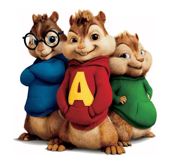 Sonhando Com Cores Alvin E Os Esquilos Para Colorir Alvin E
