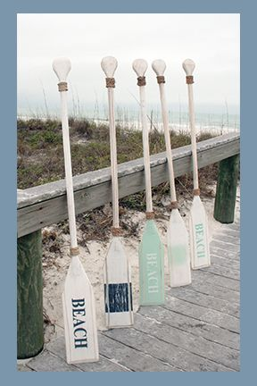 Photo of 10 Ideas for Coastal Decorating with Oars and Paddles!