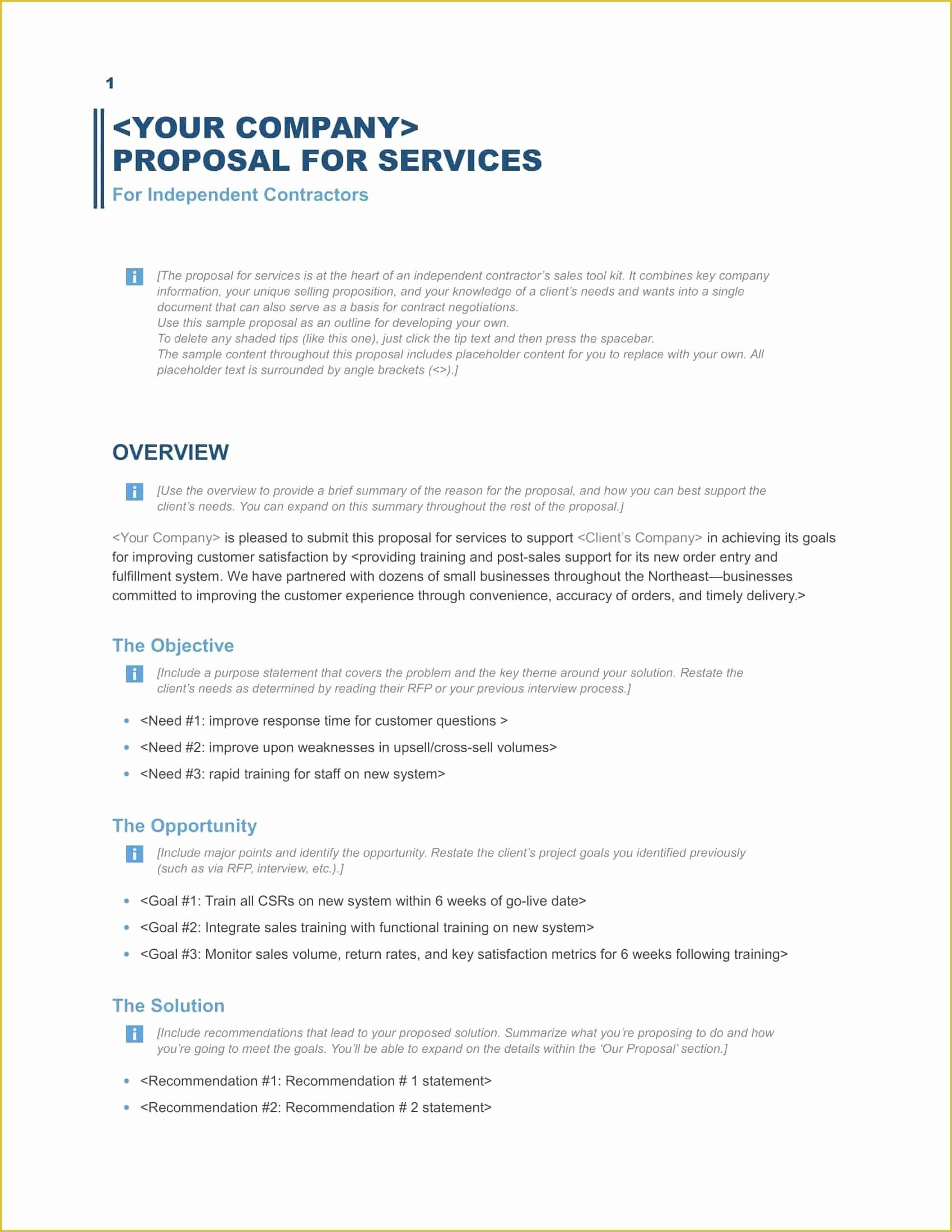 Photography Proposal Template Free Download 2020 Free Business