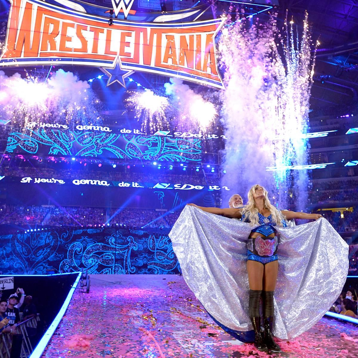 Image result for charlotte flair entrance