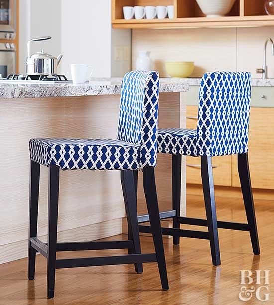 Ikea Slipcovers Ikea Bar Reupholster Chair Diy Bar Stool