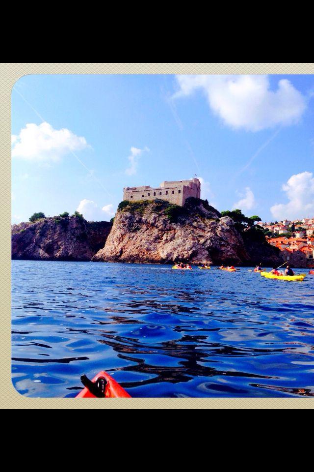 Kayaking around Dubrovnik or for game of thrones fans, kings landing