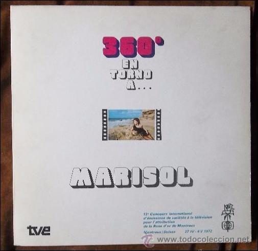 DISCO VINILO MARISOL - 360º EN TORNO A...